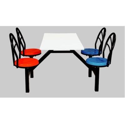 玻璃钢餐桌椅|员工餐桌椅