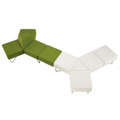 三角形沙发|异型沙发|天津办公沙发厂