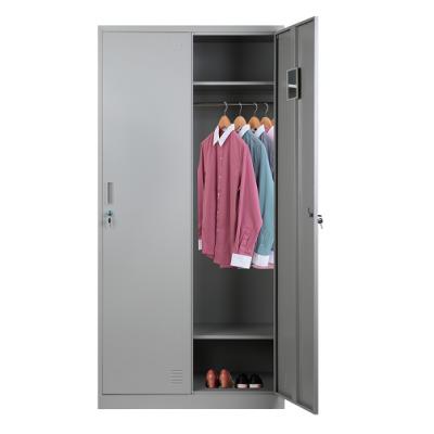 二门更衣柜|钢制更衣柜|宿舍更衣柜