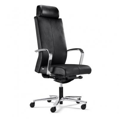 天津时尚老板椅|人体工学真皮座椅