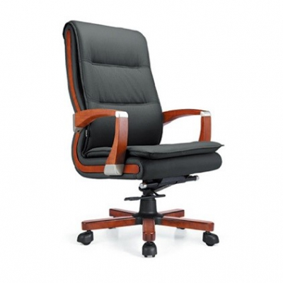 实木座椅|实木真皮老板椅|天津家具厂
