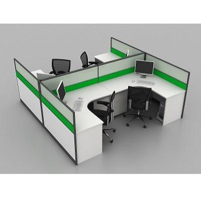 组合屏风办公桌|天津定制办公桌